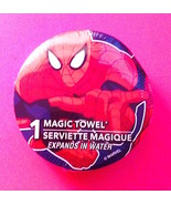 Spider-Man Magic Towel-Marvel New &Factory Sealed—More Fun Characters Av... - $3.95