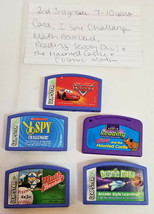 Leapsters by Leap Frog 2 nd 3 rd grade 7 - 10 years 5 disk lot fun game ... - $19.75