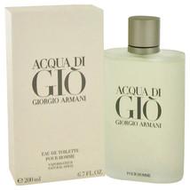 ACQUA DI GIO by Giorgio Armani Eau De Toilette Spray 6.7 oz for Men #416545 - $107.04