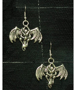 Beloved Bat Metal Gothic Earrings - $5.40
