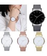 Stylish Casual Women Stainless Steel Band Watch Analog Dial Quartz Wrist... - $2.18+
