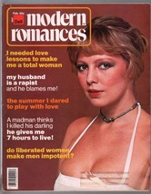 Modern Romances 2/1976-Dell-exploitation magazine-spicy pulp stories-pin... - $31.53