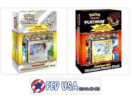 Pokemon Platinum Poster Pack Magnezone & Arceus Bundle, 1 of Each - $74.99
