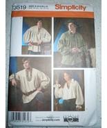 Simplicity Misses Men's & Teen Shirt Size XS-XL Uncut #3519 - $5.99