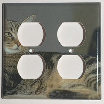 American Pelo Corto Cat Switch Power Outlet Duplex Wall Cover Plate Home decor image 4