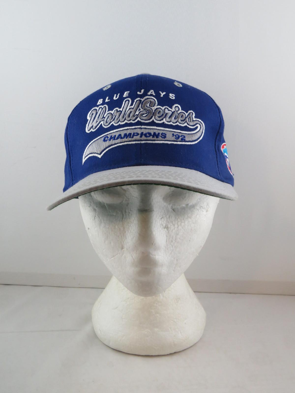 Toronto Blue Jays Hat  - 1992 World Series Champs Script Starter -Adult Snapback