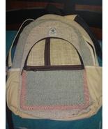 Pure Hemp Travel Backpack Made in Nepal multi pockets laptop sleeve - $29.00