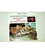 """Snow White and the Three Stooges"" Movie Soundtrack LP Album - $23.89"