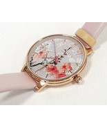TED BAKER LONDON Women's Watch Floral Pattern Leather Band TE50493001 - ... - $135.00