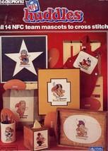 Nfl Huddles 14 Nfc Mascots Cross Stitch PATTERN/INSTRUCTIONS (1983) - $8.97