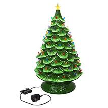 "Cypress Home LED Illuminated Plug-in Ceramic Christmas Tree 24"" Tall - $241.07"