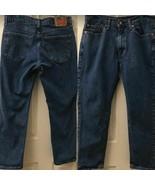 Levi's 541 Men's Denim Blue Jeans 34 x 30 Straight Leg Cotton Blend - $23.98