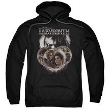 Labyrinth - Globes Adult Pull Over Hoodie Officially Licensed Apparel - $34.99+