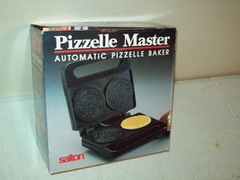 Salton Pizzelle Master automatic Pizzelle baker BRAND NEW in the box - $19.19 CAD