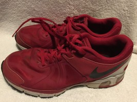 Used/Worn Nike Max RunLite 5 running shoes red black Unisex size 6 Y Youth - $32.66