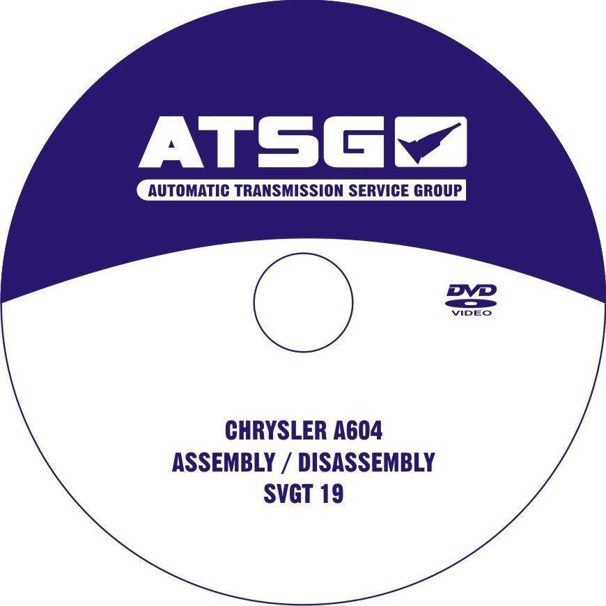 604 Transmission Repair rebuild manual