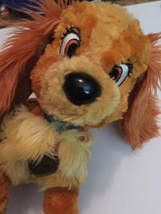 Disneyland Walt Disney Lady And The Tramp Lady Plush Stuffed Animal Soft... - $20.78