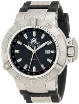 Invicta 1151 Subaqua Noma III GMT Black Mother-Of-Pearl Dial (Missing Band) - $125.00