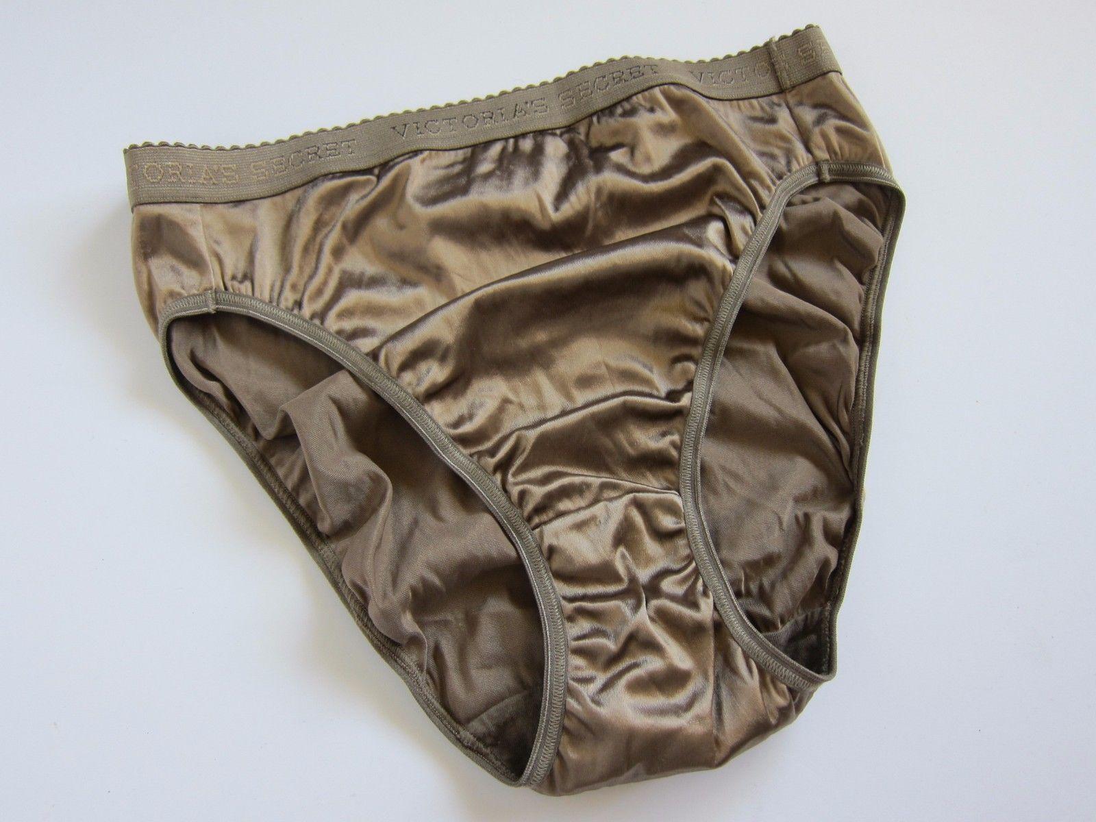 6adc540d9dda S l1600. S l1600. Previous. NWOT Victoria's Secret VINTAGE Satin Signature  Waistband Brief Panties MEDIUM