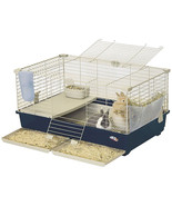 Marchioro Tommy C 82 Cage for Small Animals, 32.25 inches, Beige/Green - £77.16 GBP