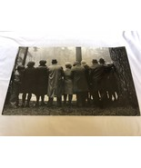 Algirdas Pilvelis 1977 Lithuania Dances of Elderly black & white Art Pho... - $643.50