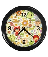 Kids Life Custom Black Wall Clock - $19.95