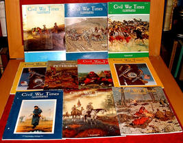 10 Civil War Times 1970-71 Petersburg history slavery Sumter - $15.00