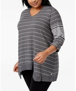 Calvin Klein Plus Size High-Low Active Top, Size 1X, MSRP $59 - $28.04