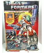 1987 Transformers G1 Headmaster Autobot Base Fortress Maximus w/ Origina... - $699.99