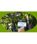 Custom personalized state bicycle license plate - $9.99
