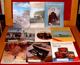 10 Civil War Times Illustrated 1981-2 Monitor Career Battlefields Pirates - $15.00