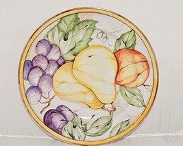 "American Atelier Pompeii Fruits Salad / Dessert Plate 8"" Pear 5019 - $18.32"