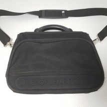 United Colors Of Benetton Black Crossbody Shoulder Messenger Travel Came... - $44.51