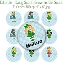 Editable - Daisy Scout, Brownie, Girl Scout,  B... - $3.00