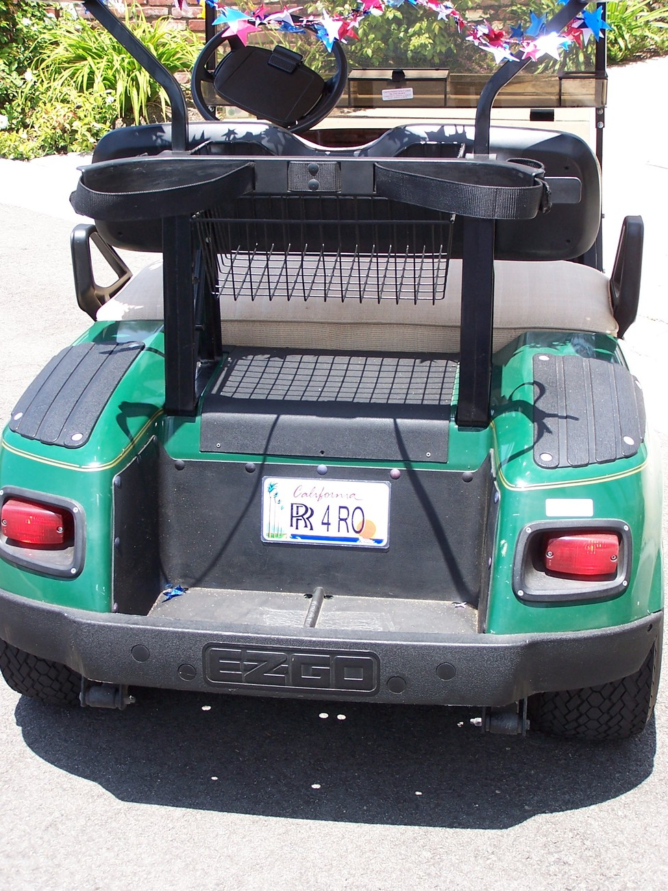 Custom Personalized Connecticut golf cart, mobility scooter license plate