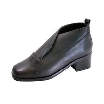 Peerage Thea Women Wide Width Leather Dress Booties - $59.95