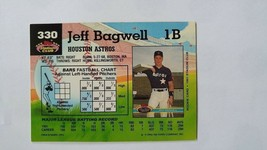 Jeff Bagwell 1992 Topps Stadium Club Card #330 Houston Astros Free Shipping image 2