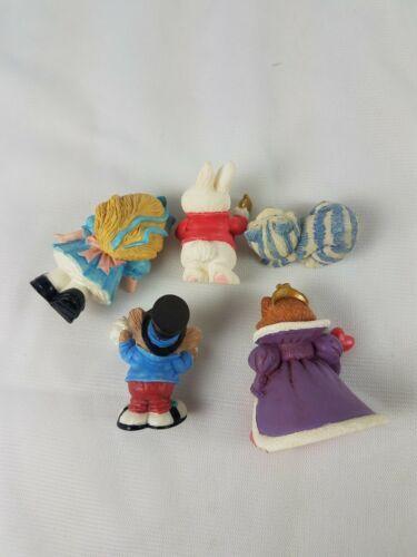 Hallmark Merry Miniatures Alice in Wonderland 5 Piece Set Lot image 3