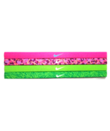 NEW Nike Girl`s Assorted All Sports Headbands 4 Pack Multi-Color #20 - $20.00