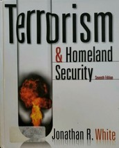 Terrorism and homeland security 7th edition Jonathan R white - $19.07
