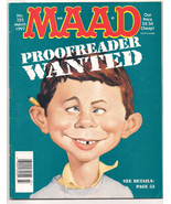 MAD Magazine # 355 March 1997  Proofreader Wanted - $7.00