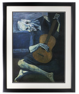 Pablo Picasso Framed The Old Guitarist 18x24 Photo - $138.59