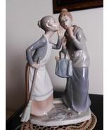 Lladro Gossip # 4984 Mint w/box RARE, Large figurine - $599.00