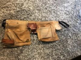Workwear McGuire Nicholas Heavy Suede Cowhide DM-499-4 Tool Belt GOOD CO... - $20.00