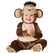 Baby Monkey Costume Curious George Halloween Fancy Dress - $17.33