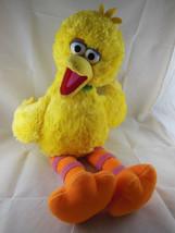 "sesame Street Big Bird Yellow Plush With medallion RETIRED 2006 Build A Bear 22"" - $18.80"