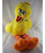 sesame Street Big Bird Yellow Plush With medallion RETIRED 2006 Build A ... - $18.80
