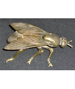 Antique Brass Ashtray / Fly - $125.98