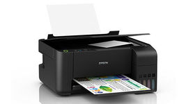 EPSON L3100 EcoTank All-in-One Ink Tank Inkjet Multi-function Printer Scan Copy image 3