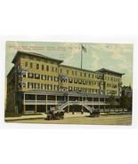 Holmhurst Hotel Postcard Pennsylvania Ave Atlantic City New Jersey 1911 - $17.80